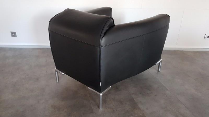 Mooie zwarte leren bert plantagie fauteuils model monty - Mooie fauteuil ...